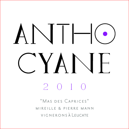 label antocyane of mas des caprices